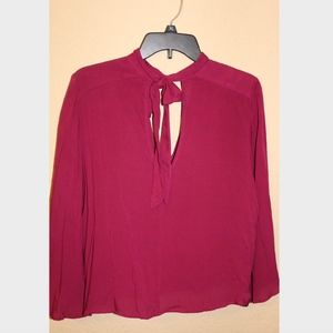 Magenta Pink Lucky Brand Blouse
